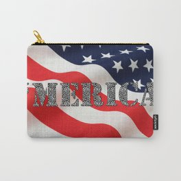 Girly 'Merica  Carry-All Pouch