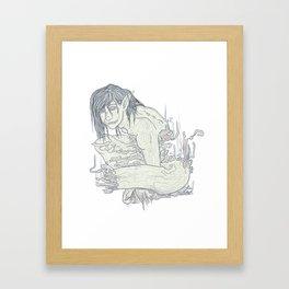 Ghoul Framed Art Print