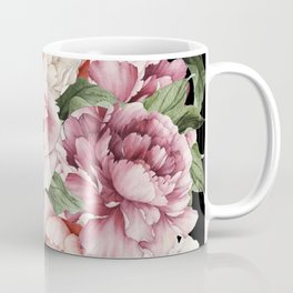 Peony Power Coffee Mug