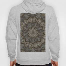 Natural Earth Tones Mandala Pattern Hoody