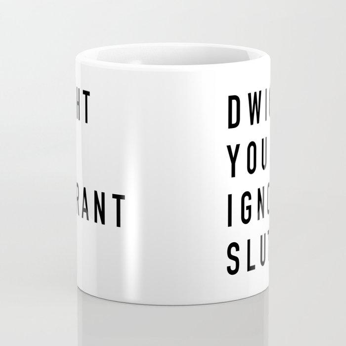 the office mugs. Dwight You Ignorant The Office Coffee Mug Mugs
