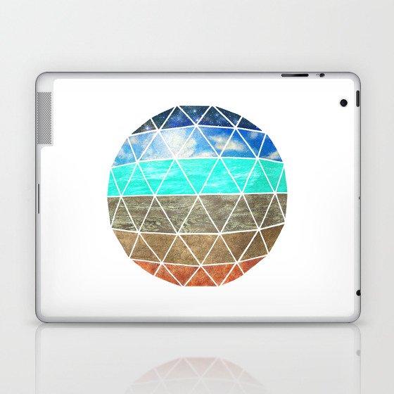 Elemental Geodesic  Laptop & iPad Skin
