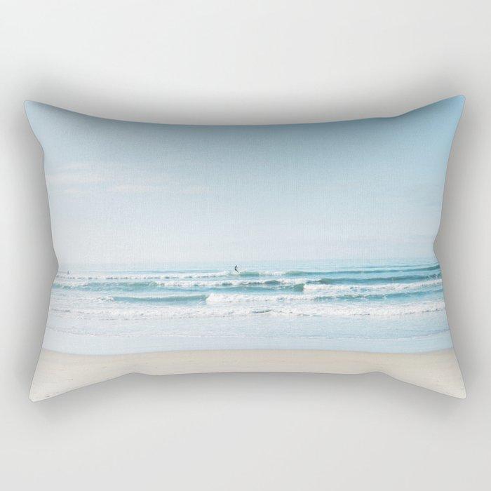 California Surfing Rectangular Pillow