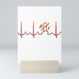 Dancing Heartbeat Mini Art Print
