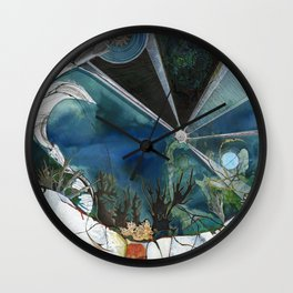 Exploration: Coral Wall Clock