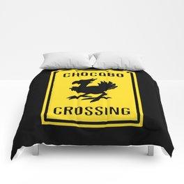 FINAL FANTASY: WARNING, CHOCOBO CROSSING Comforters