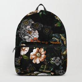 Floral Night Garden Backpack