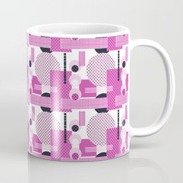 SSPOTS AND BOXX - Polka Dot, Kitsch, Circle, Pink, Sweet, Cute, Pop Art Coffee Mug
