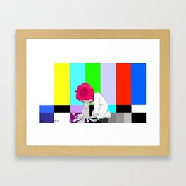 Quality Broadcasting Framed Art Print
