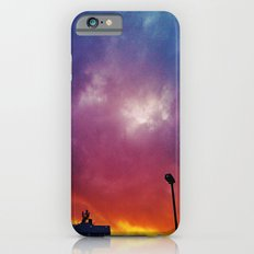 Rainbow clouds iPhone 6s Slim Case