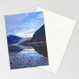 Glacier Mendenhall Juneau, Alaska Stationery Cards