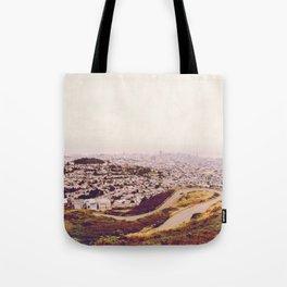 Misty Frisco (San Francisco sous la brume) Tote Bag