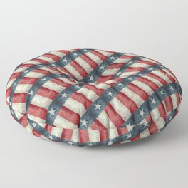 Vintage Texas flag pattern Floor Pillow
