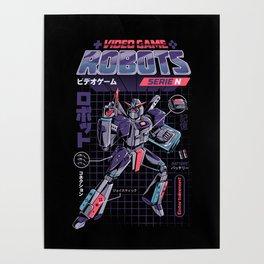 Video Game Robot - Model N Poster