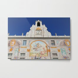All About Italy. Piece 2 - The Palace of St. George in Genoa Metal Print
