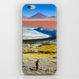Laguna Colorada iPhone Skin