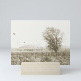 Windy Field Mini Art Print