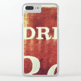 Royal Cola Clear iPhone Case