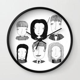 La familia Addams Wall Clock