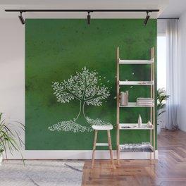 Wind Green  Wall Mural