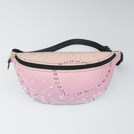 Summer UNICORN Girls Glitter Heart #1 (Faux Glitter) #shiny #pastel #decor #art #society6 Fanny Pack