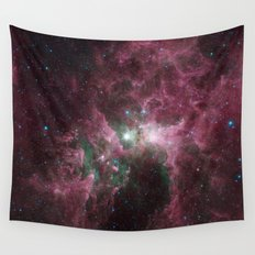 The Tortured Clouds of Eta Carinae Wall Tapestry