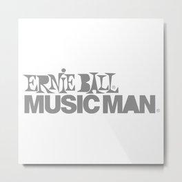 ERNIE BALL MUSICMAN new Metal Print