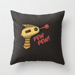 Phaser on Stun Throw Pillow