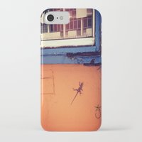 puerto rico iPhone & iPod Cases featuring Lizard in Puerto Rico by ANoelleJay