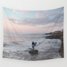 The Surfer Wall Tapestry