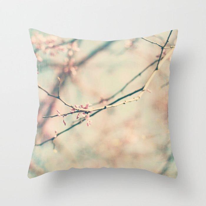spring #1 (pinky) Throw Pillow