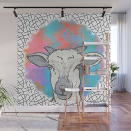 Sheep Spot Wall Mural