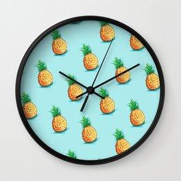 P I N E A P P L E Wall Clock