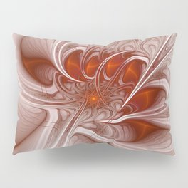 Mother and Child, Abstract Fractal Art Pillow Sham