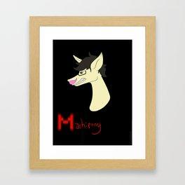 Markipony (Original) Framed Art Print
