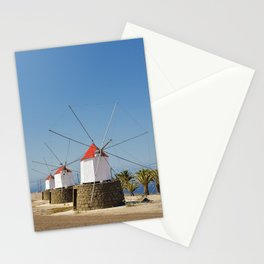 Windmills from Porto Santo (RR 279) Stationery Cards