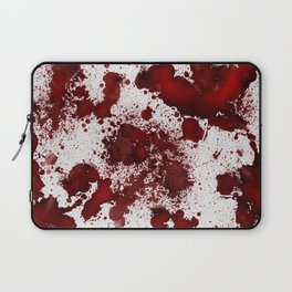Blood Stains Laptop Sleeve
