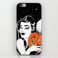 Trick or treat iPhone & iPod Skin
