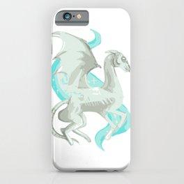 Magic cute Fantastic beast white iPhone Case