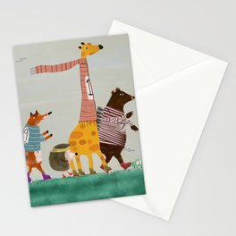the fun run Stationery Cards