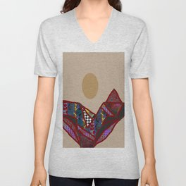 HIGH FASHION OUTFIT TTY N24 Unisex V-Neck