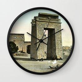 Karnak. Gate and Pylon Wall Clock
