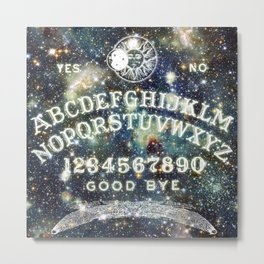 Ouija Board (Celestial Version) Metal Print