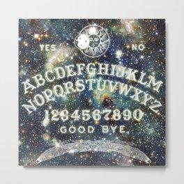 Ouija Board (Celestial Version) Metal Print