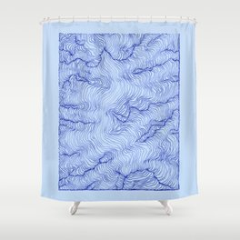 Pure Glacier Shower Curtain