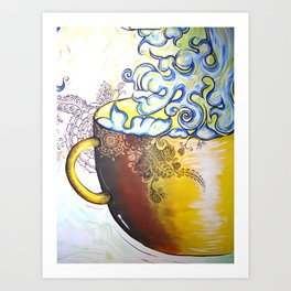 Coffee Cantina Art Print