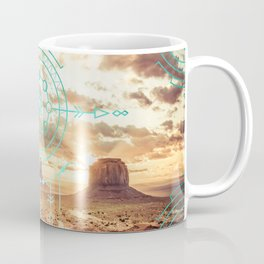 Mandala Desert Dawn Coffee Mug