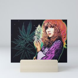 Stevie Nicks Tribute Mural: Wouldn't You Love to Love Her // Music Women Rock and Roll Fleetwood Mini Art Print