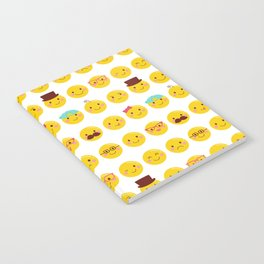 Cheeky Emoji Faces Notebook