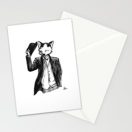 Dapper Fox Stationery Cards